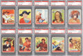Non-Sport Cards:Lots, 1933-40 R73 Goudey Indians Collection (81). ...