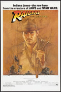 """Movie Posters:Adventure, Raiders of the Lost Ark (Paramount, 1981). Fan Club One Sheet (27""""X 41""""). Adventure.. ..."""