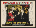"""Movie Posters:Mystery, You'd Be Surprised (Paramount, 1926). Lobby Card (11"""" X 14"""").Mystery.. ..."""
