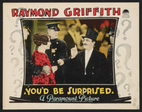 """You'd Be Surprised (Paramount, 1926). Lobby Card (11"""" X 14""""). Mystery"""