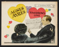 "Movie Posters:Drama, Tomorrow's Love (Paramount, 1925). Title Lobby Card (11"" X 14"").Drama.. ..."