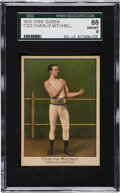 Boxing Cards:General, 1910 T223 Dixie Queen Charles Mitchell SGC 88 NM/MT 8....