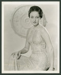 """Movie Posters:Miscellaneous, Dorothy Lamour Lot (Various, 1936-1940). Portrait (8"""" X 10"""") andKeybook Photo (8"""" X 11""""). Miscellaneous.. ... (Total: 2 Items)"""