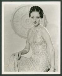 "Dorothy Lamour Lot (Various, 1936-1940). Portrait (8"" X 10"") and Keybook Photo (8"" X 11""). Miscellan..."