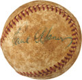 Autographs:Baseballs, 1960's Paul Waner Single Signed Baseball....