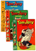 Golden Age (1938-1955):Cartoon Character, Tom and Jerry Group (Dell, 1951-57) Condition: Average VG+....(Total: 12 Comic Books)