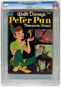 Golden Age (1938-1955):Cartoon Character, Dell Giant Comics Peter Pan Treasure Chest #1 (Dell, 1953) CGC FN-5.5 Off-white pages....