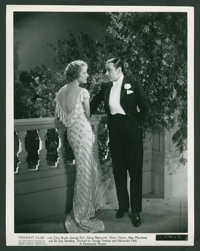 """George Raft and Helen Vinson in """"Midnight Club"""" (Paramount, 1933). Photos (10) (8"""" X 10""""). Crime..."""