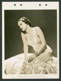 "Dorothy Lamour (Paramount, 1939). Keybook Photos (4) (8"" X 11""). Miscellaneous. ... (Total: 4 Items)"