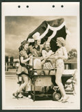 "Paramount Future Stars Lot (Paramount, 1939). Keybook Photos (3) (8"" X 11""). Miscellaneous. ... (Total: 3 Item..."