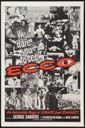 "Movie Posters:Documentary, Ecco (Cresa-Roma, 1965). One Sheet (27"" X 41""). Documentary.. ..."