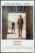 "Movie Posters:Western, Rio Lobo (National General, 1971). One Sheet (27"" X 41""). Western.. ..."
