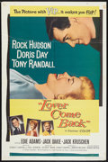 "Movie Posters:Comedy, Lover Come Back Lot (Universal, 1962). One Sheets (2) (27"" X 41"").Comedy.. ... (Total: 2 Items)"