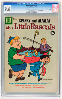 Four Color #1174 The Little Rascals - File Copy (Dell, 1961) CGC NM+ 9.6 Off-white to white pages