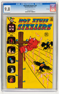 Hot Stuff Sizzlers #53 File Copy (Harvey, 1973) CGC NM/MT 9.8 Off-white to white pages