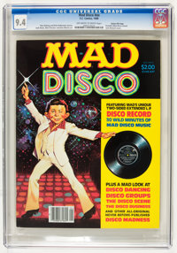 Mad Disco #nn Gaines File Copy pedigree (EC, 1980) CGC NM 9.4 Off-white to white pages