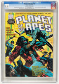 Magazines:Miscellaneous, Planet of the Apes #18 (Marvel, 1976) CGC NM 9.4 Off-white to whitepages....