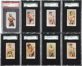Boxing Cards:General, 1909 E75 and 1910 E76 American Caramel Boxing Set Pair (2). ...
