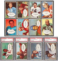 Football Cards:Sets, 1953 Bowman Football Collection (130) - An Original Owner Collection. ...