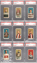 "Hockey Cards:Lots, 1910 C56 ""Hockey Series"" PSA-Graded Collection (9). ..."