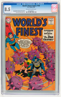 World's Finest Comics #108 (DC, 1960) CGC VF+ 8.5 Off-white to white pages