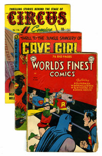 Miscellaneous Golden Age Group (Various, 1940s-50s) Condition: Average GD-.... (Total: 44 Comic Books)