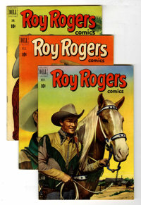 Roy Rogers Comics Group (Dell, 1949-55) Condition: Average VG+.... (Total: 28 Comic Books)