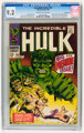 The Incredible Hulk #102 Western Penn pedigree (Marvel, 1968) CGC NM- 9.2 Off-white to white pages