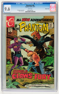 Phantom #46 Western Penn pedigree (Charlton, 1971) CGC NM+ 9.6 White pages