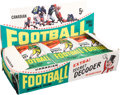 Football Cards:Boxes & Cases, 1964 Topps CFL Football 36-Count Counter Display Box...