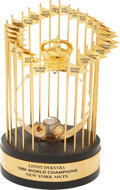 Baseball Collectibles:Others, 1986 Lenny Dykstra New York Mets World Championship Trophy....