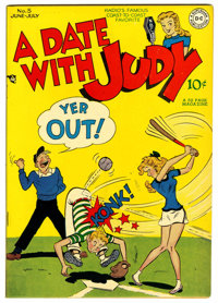 A Date With Judy #5 (DC, 1948) Condition: NM