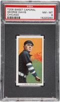 Baseball Cards:Singles (Pre-1930), 1909-11 T206 George Davis-Chicago PSA NM-MT 8....