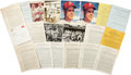 Baseball Collectibles:Photos, 1940's-80's Andy Seminick Archive of Signed & UnsignedContracts, Photographs....