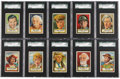 Non-Sport Cards:Lots, 1952 Topps Look 'N See SGC-Graded Collection (41 Different) WithNM/MT Babe Ruth....
