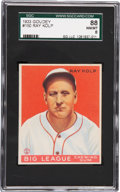 Baseball Cards:Singles (1930-1939), 1933 Goudey Ray Kolp #150 SGC 88 NM/MT 8 - Pop 2 with NoneHigher!...