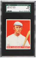 Baseball Cards:Singles (1930-1939), 1933 Goudey Phil Todt #86 SGC 88 NM/MT 8....