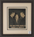 Autographs:Photos, 1980's Roger Maris & Mickey Mantle Signed Photograph....