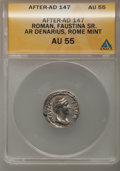 Ancients:Ancient Lots , Ancients: Roman Imperial. Lot of five certified AR denarii....(Total: 5 coins)