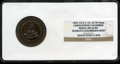 Expositions and Fairs, (1893) World's Columbian Exposition, Christopher Columbus Medal, ILEglit-55, MS66 Brown NGC....