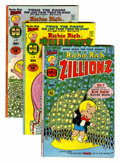 Bronze Age (1970-1979):Humor, Richie Rich Zillionz File Copy Group (Harvey, 1976-82) Condition:Average NM-.... (Total: 32 Comic Books)