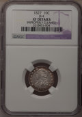 Bust Dimes: , 1827 10C --Improperly Cleaned--NGC Details. XF. JR-4. NGC Census:(7/221). PCGS Population (18/211). Mintage: 1,300,000. Nu...