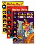Richie Rich Success Stories File Copy Group (Harvey, 1970-82) Condition: Average VF/NM.... (Total: 74 Comic Books)