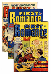 First Romance File Copy Group (Harvey, 1949-58) Condition: Average VF.... (Total: 48 Comic Books)