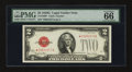 Small Size:Legal Tender Notes, Fr. 1508* $2 1928G Legal Tender Note. PMG Gem Uncirculated 66 EPQ.. ...