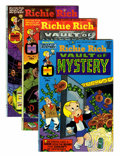 Bronze Age (1970-1979):Cartoon Character, Richie Rich Vaults of Mystery File Copy Group (Harvey, 1974-82)....(Total: 46 Comic Books)