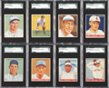 Baseball Cards:Lots, 1933 Goudey Baseball SGC 84 NM 7 Collection (8). ...