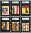 "Non-Sport Cards:Lots, 1937 Wolverton ""Ripley's Believe It or Not"" SGC-Graded Collection(6). ..."
