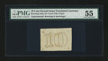 Fractional Currency:Second Issue, Milton 2E10FR.3 10¢ Second Issue Experimental PMG About Uncirculated 55....