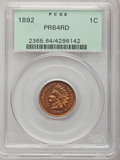 Proof Indian Cents: , 1892 1C PR64 Red PCGS. PCGS Population (48/57). NGC Census: (17/29). Mintage: 2,745. Numismedia Wsl. Price for problem free...